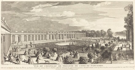Vue du Chateau de Trianon du Cote du Parterre