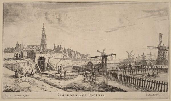 Zaagmolen Gate (Saaghmeulens Poortie)