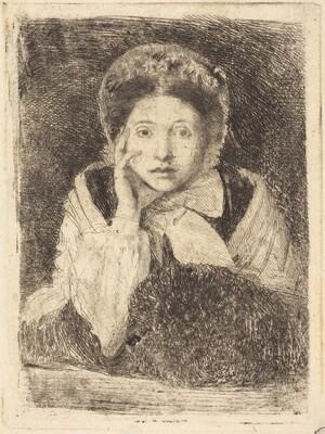 Marguerite De Gas, the Artist's Sister (Marguerite De Gas, soeur de l'artiste)