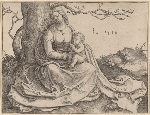 The Virgin Seated under a Tree