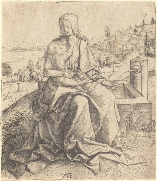 Madonna and Child at a Fountain
