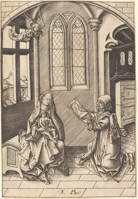 Saint Luke Drawing a Portrait of the Virgin