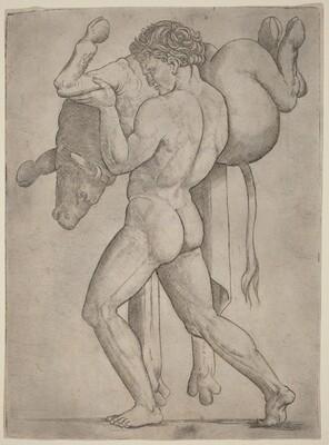 Hercules and the Cretan Bull