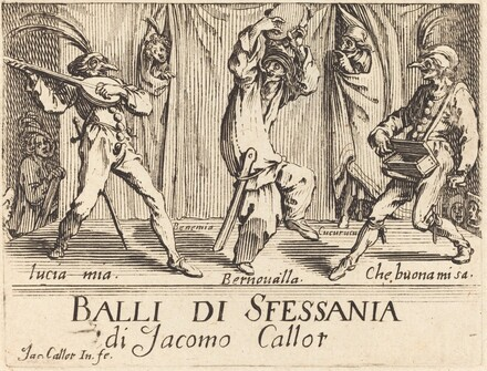 Frontispiece for Balli di Sfessania