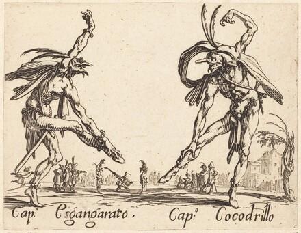 Cap. Esgangarato and Cap. Cocodrillo