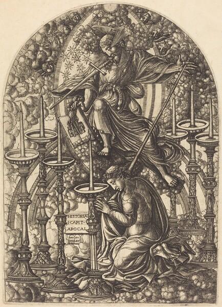 Saint John Sees the Seven Golden Candlesticks