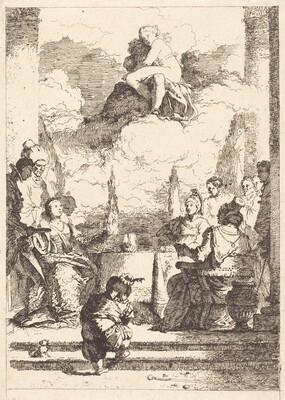 The Feast of Anthony and Cleopatra  (Le festin d'Antoine et de Cleopatre)