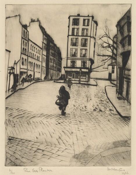Rue des Plantes (Plants Street)