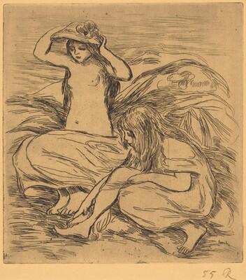 The Two Bathers (Les deux baigneuses)