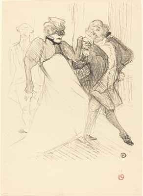 Rejane and Galipaux in Madame Sans-Gêne (Réjane et Galipaux dans Madame Sans-Gêne)