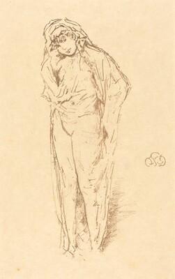 Draped Figure Standing