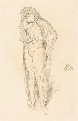 Draped Figure, Standing
