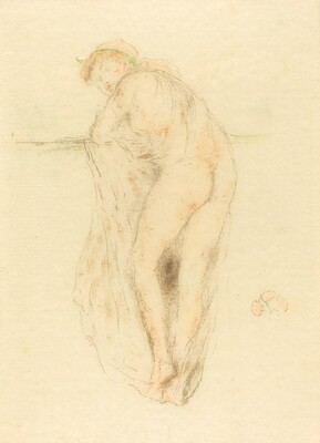 Nude Model, Back View