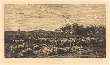 Large Sheepfold (Le Grand parc a moutons)