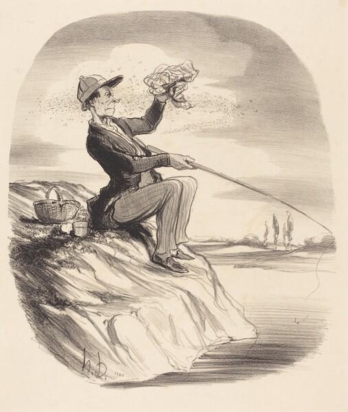 Désagrément d'aller a la pêche...