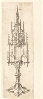 A Gothic Monstrance