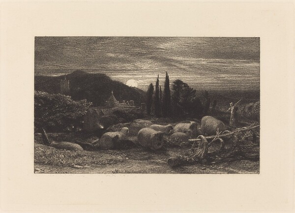 The Rising Moon, or An English Pastoral