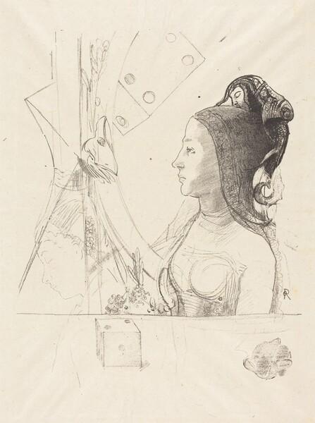 Femme de Profil (Profile of a Woman)