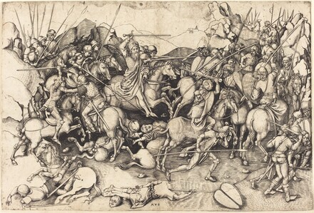 The Battle of Saint James at Clavijo