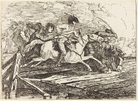 Cavalry Charging