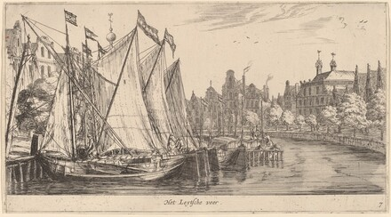 The Ferry to Leiden (Het Leytsche veer)