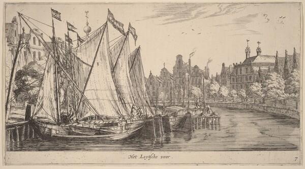 The Ferry to Leiden (Het Leytsche veer)