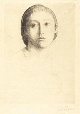 Head of a Young Girl (Tete de jeune fille)