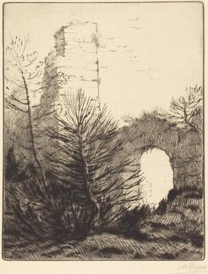 Ruins of a Monastery (Les ruines du monastere)