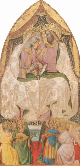 The Coronation of the Virgin with Six Angels