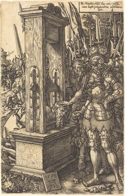 Titus Manlius Beheading His Son