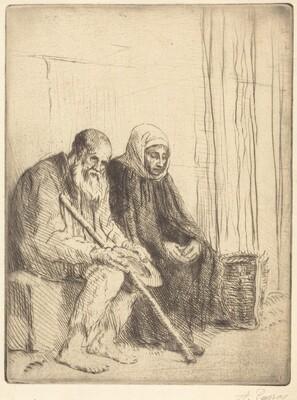 Two Beggars (Les deux mendiants)