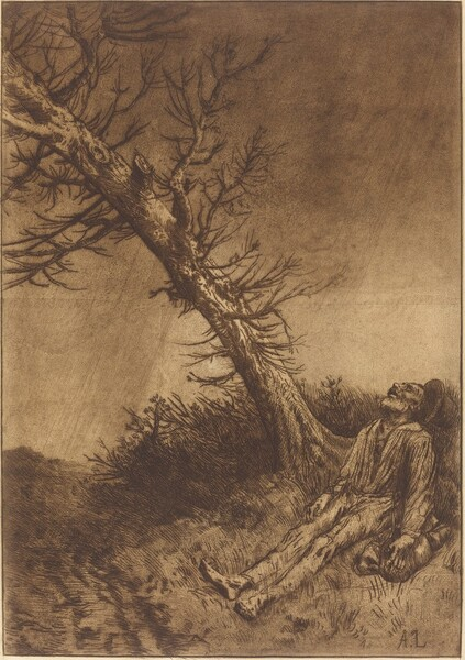 Death of the Vagabond (La mort du vagabond)