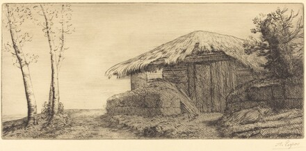 Shepherd's Hut on a Hillside  (Bergerie sur le coteau)