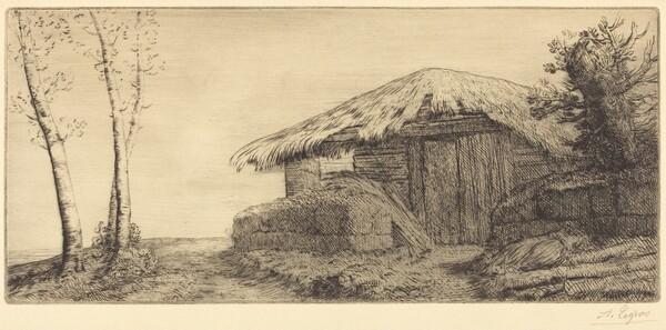 Shepherd's Hut on a Hillside  (Bergerie sur le coteau)