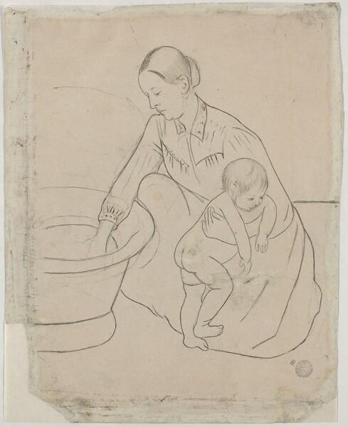 The Bath [verso]