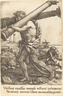 Hercules Carrying the Two Columns of Gaza