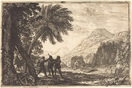 Landscape with Brigands (Scène de brigands)