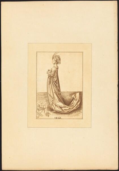 A Lady in a Long Dress