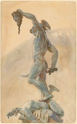 Sketch of Cellini's Perseus