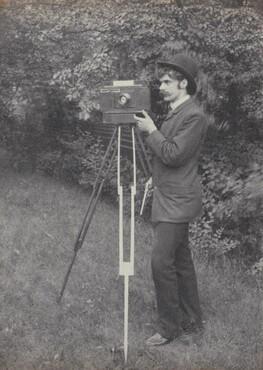 Self-Portrait, Freienwalde a.O.