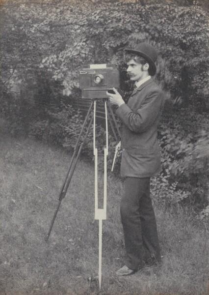 Self-Portrait, Freienwalde a. O.