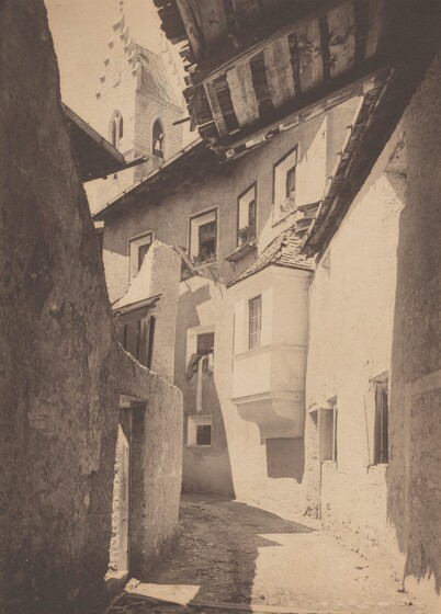 A Street in Sterzing, The Tyrol