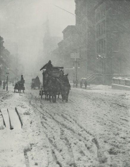 Winter, Fifth Avenue