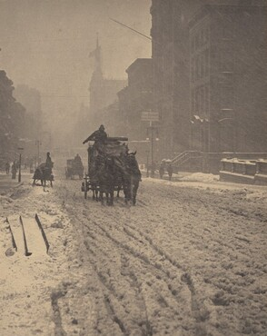 image: Winter, Fifth Avenue