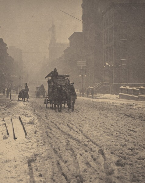 Winter, Fifth Avenue