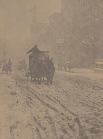 Winter—Fifth Avenue