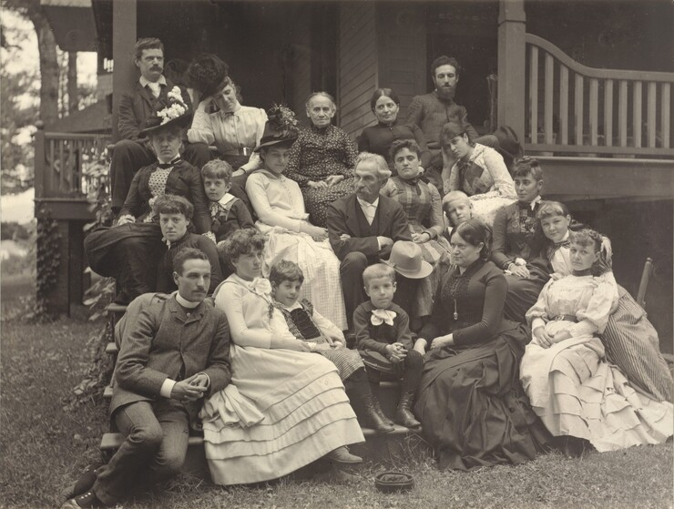 Stieglitz Family at Oaklawn, Lake George