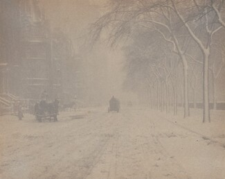 image: Winter, New York