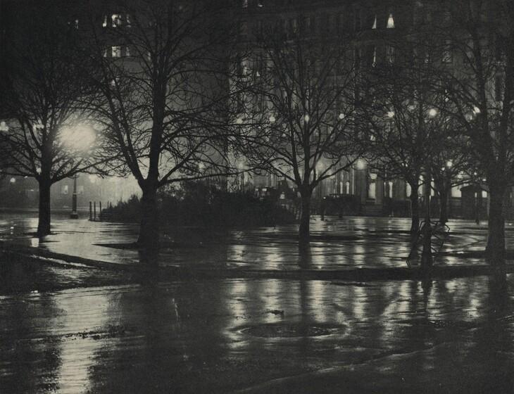 Reflections: Night—New York