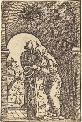 Joachim Embracing Anna